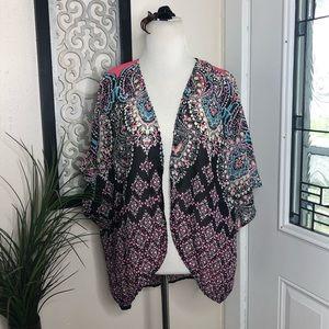Eyeshadow Kimono shrug